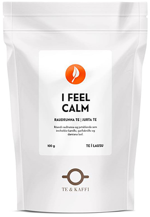 I feel calm te